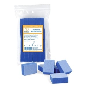 Flowery Disposable Buffing Blocks 24 pc