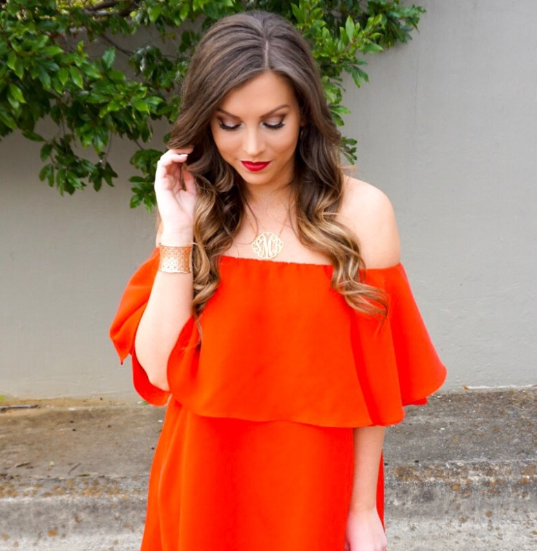 off-the-shoulder-ruffle-dress-shein