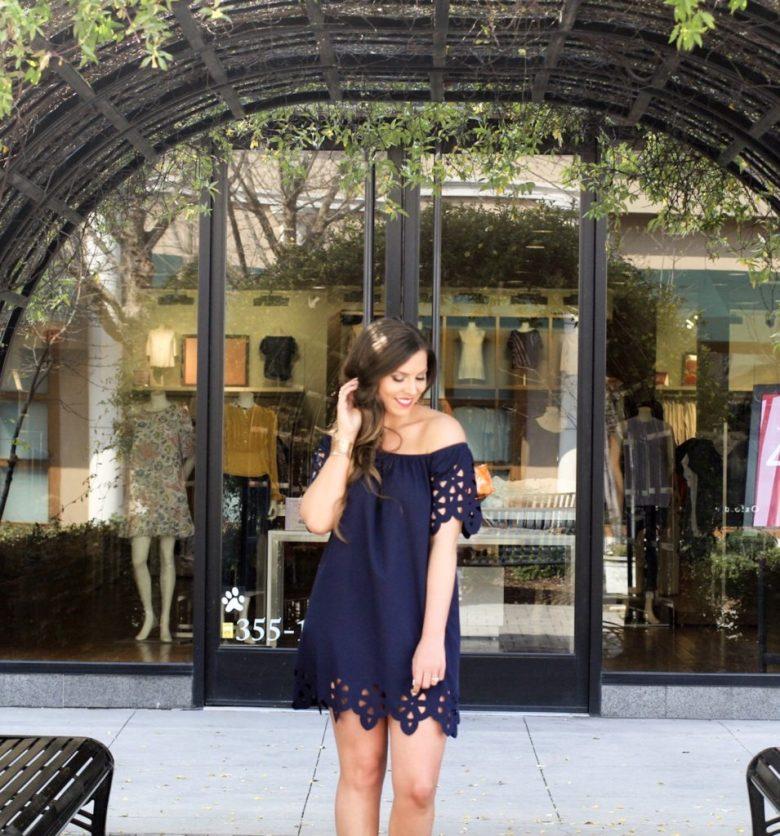 blue-off-the-shoulder-dress-shein