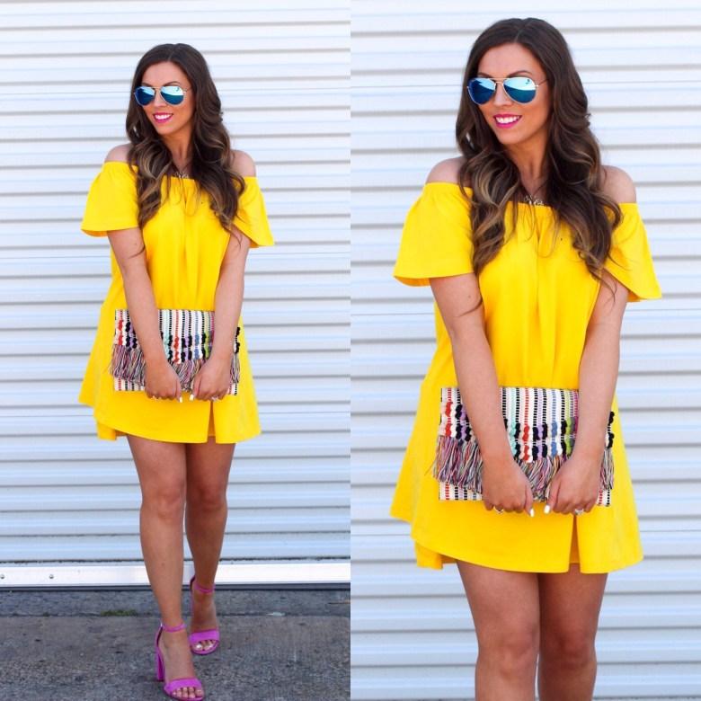 asos-yellow-mini-dress