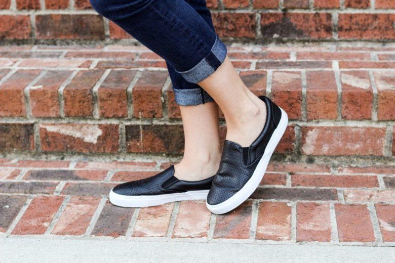 black-slip-on-sneakers