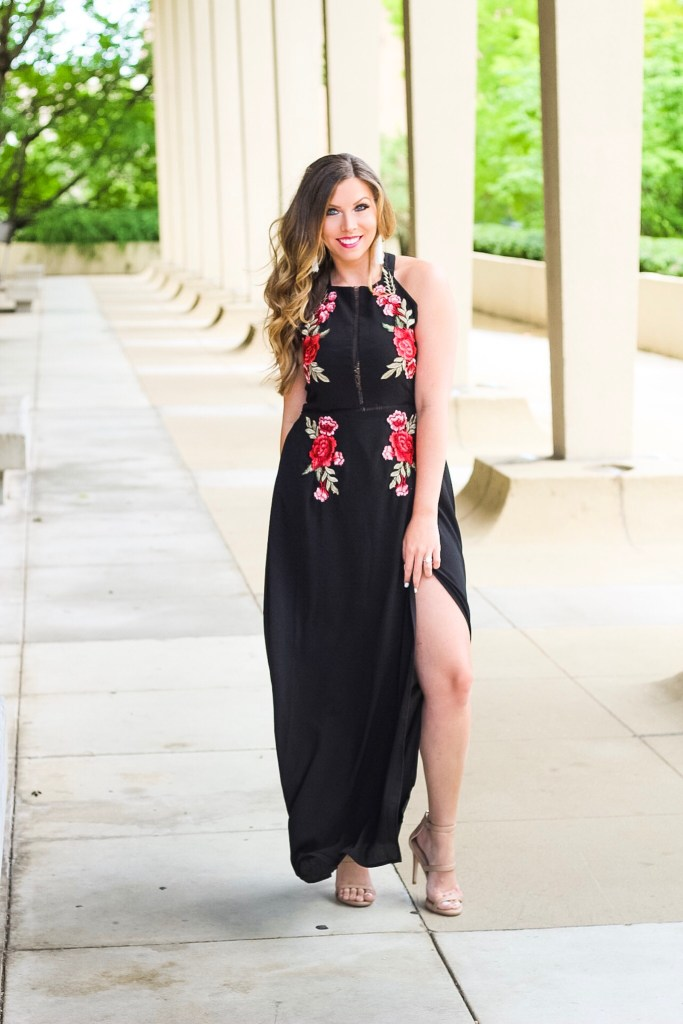 embroidered-black-maxi-dress