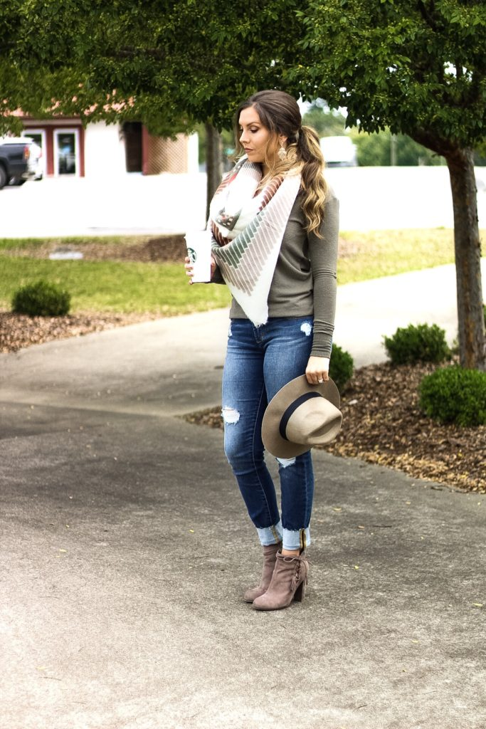 olive-green-fitted-sweater-women