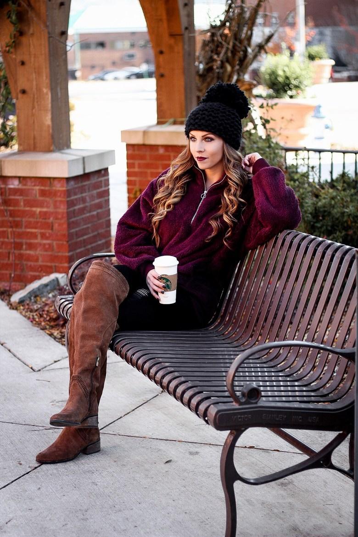burgundy-fleece-pullover