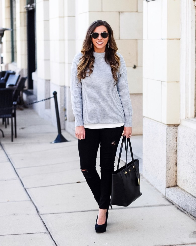 mock-neck-grey-sweater-ribbed