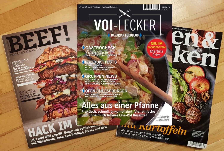 VOI Lecker Magazin 10/2018