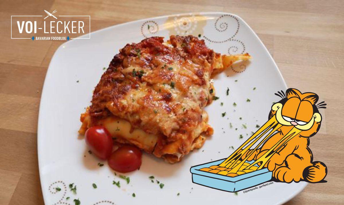 Garfield Lasagne