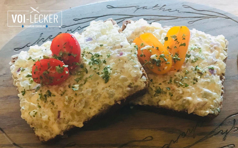 Harzer Tatar auf Brot