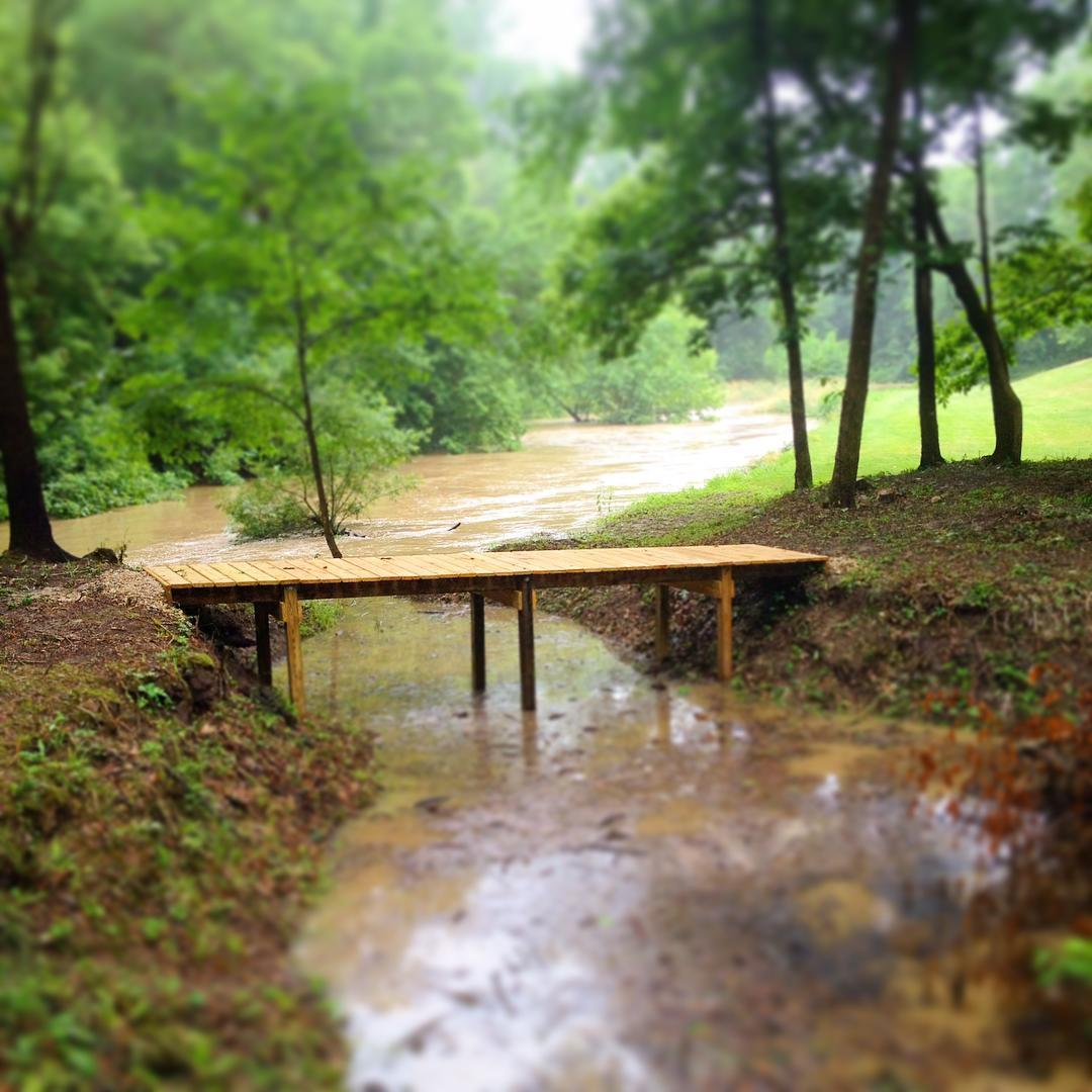 The new bridge proves itself. #voiceministriescamp #VoiceMinistries