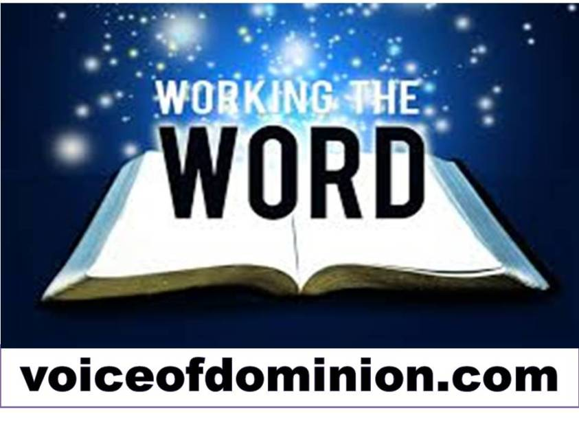 Working The Word