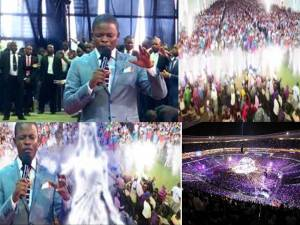 Angels appear in church during a LIVE Service – Prophet Shepherd Bushiri