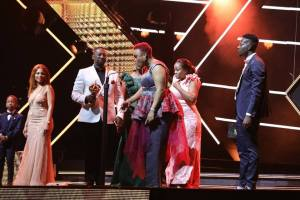 Prophet Bushiri congratulates Swazi Dlamini for winning best female artist Award