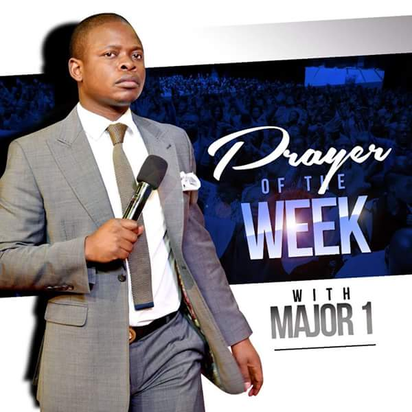 Prayer of the week with Major 1