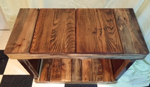wood grain really pops