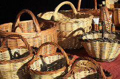 bunch of baskets