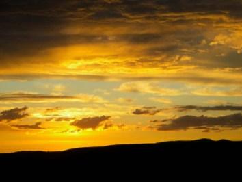 An Oregon sunset