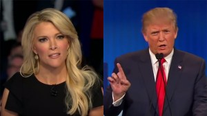 Happy couple: Megyn and Donald