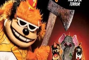 The Banana Splits Show Movie Poster-303x450