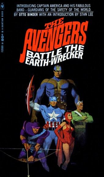 Robert McGinnis Book Cover - The Avengers Marvel