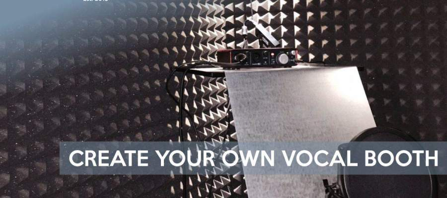 How to create your own home vocal booth