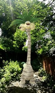 Aloan Exeggutor in the shade of other trees