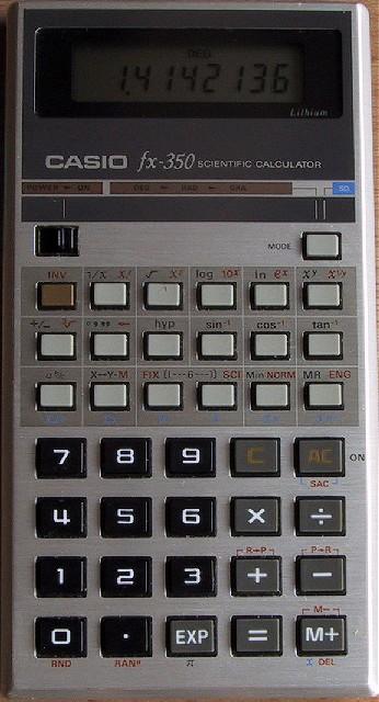 Casio Fx 350
