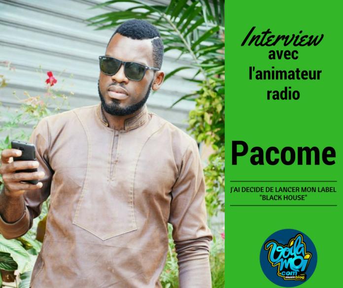 Interview avec l'animateur radio Pacome