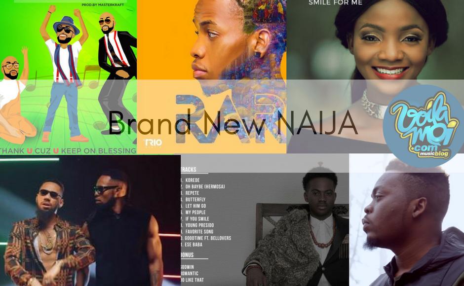 Brand new Naija music