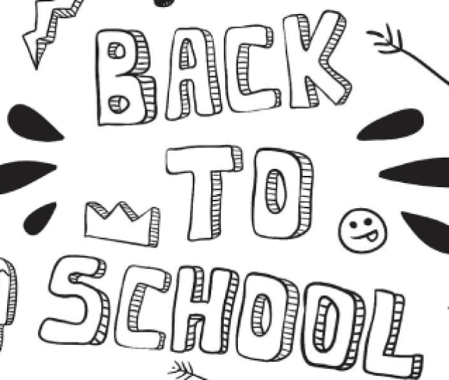Best Free Printable Back To School Coloring Pages Pdf And Images