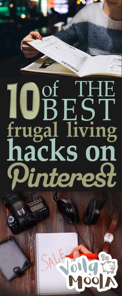 10 of THE BEST Frugal Living Hacks on Pinterest  Make Money Fast, Make Money Online, How to Make Money from Home, Frugal Living Hacks, Popular Pin