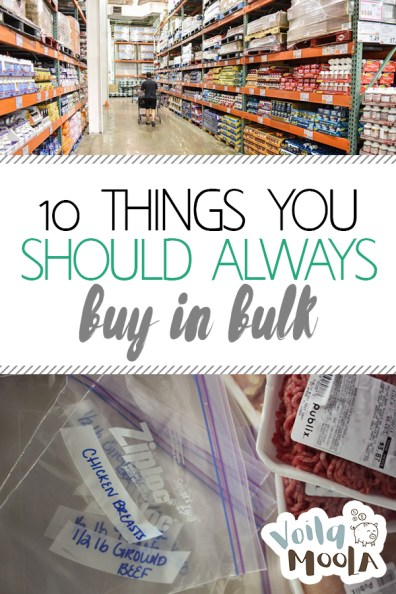 10 Things You Should ALWAYS Buy in Bulk | Buying in Bulk, Buying In Bulk Tips, Buying In Bulk Tips Zero Waste, Save Money, Save Money Tips and Tricks