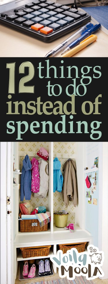 12 Things to Do Instead of Spending | Money, Money Tips, Saving Money, Saving Money Tips, Money Saving Tips, Money Saving Tips and Tricks