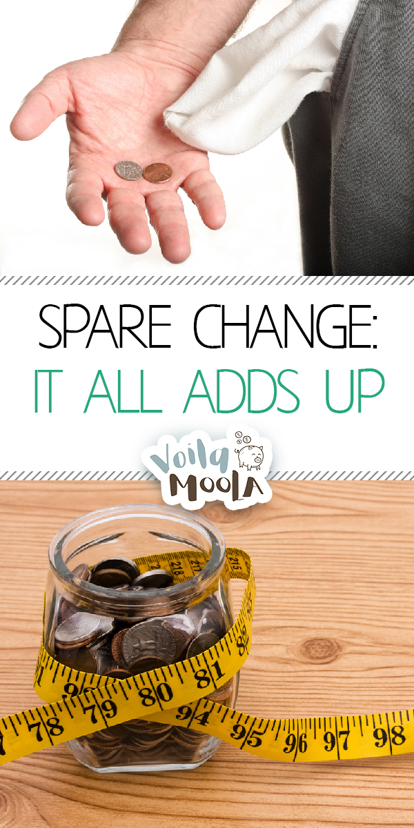 Spare Change | Saving Spare Change | Tips and Tricks to Save Spare Change | Spare Change Tips and Tricks | Money Saving Tips | Money Saving Hacks | Save Money | Tricks to Save Money
