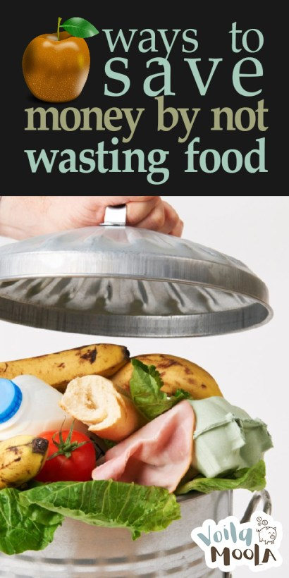 save money by not wasting food | food | wasting food | saving money | money | throwing out food