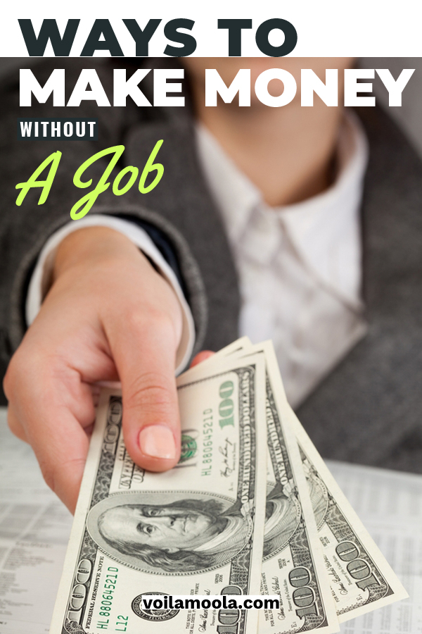 We've always been taught that you have to have a job to make money. And while that is the conventional way to do it, there are also plenty of ways to bring in some dough without having a job. Keep reading to learn exciting and easy ways to make money. What's even better is that you may not have to leave your house. I love that idea! #makemoney #howtomakemoneywithoutajob #unusualwaystomakemoney