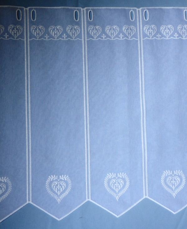 rideaux voilage rideau brode et macrame