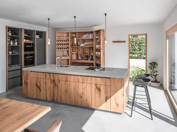 Moderne Kleine Kuche Mit Insel Inspiration   One Repata Dekor