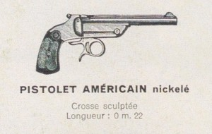 pistolet Américain