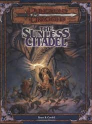 Original title of The Sunless Citadel