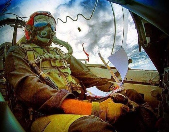pilote de chasse