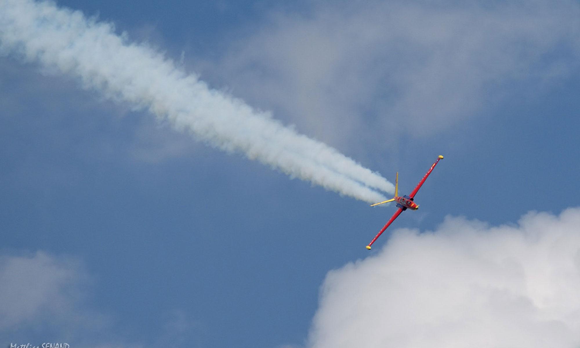 vol en avion de chasse aix