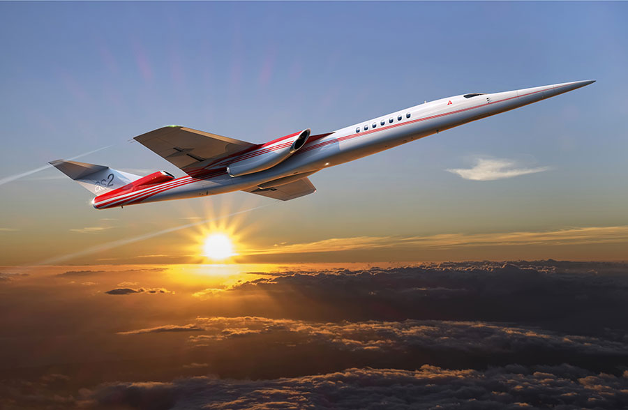 aerion supersonique