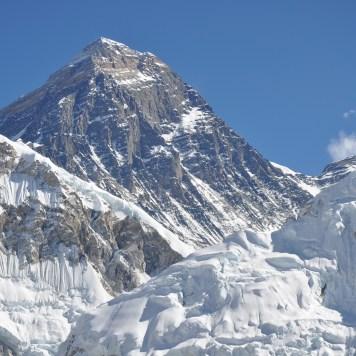 Mt. Everest (29,035 ft)seen from Kala Patthar (18,514 ft)