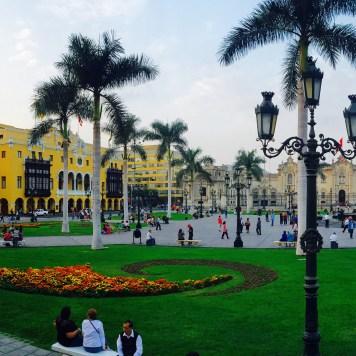 Plaza das Armas, Lima, Peru