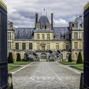 Castle of Fontainebleau, France