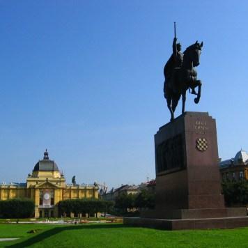 Zagreb, King Tomislav, Croatia