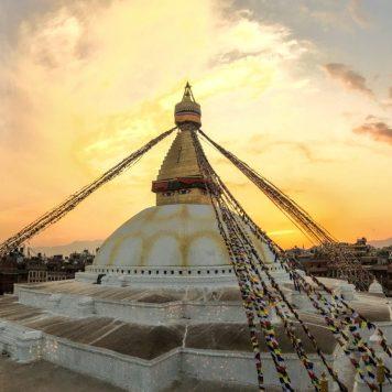 Boudhanath Stupa, Kathmandu, Nepal | Volant Travel