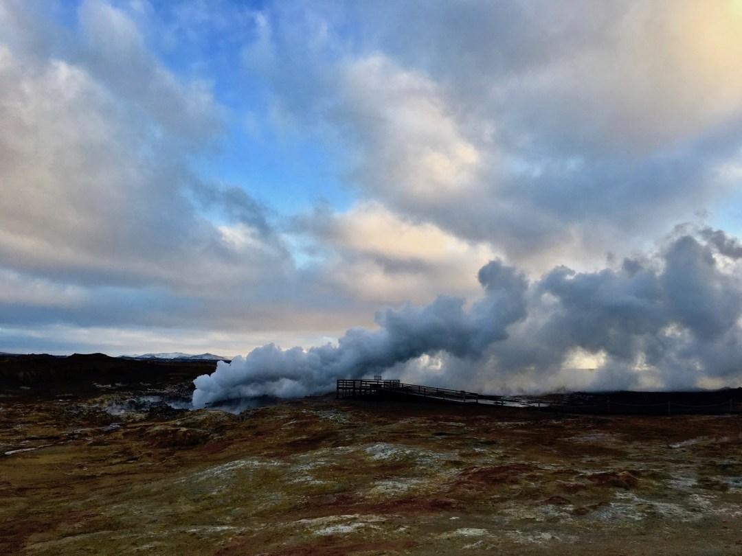 Gunnuhver Hot Springs | Volant Travel