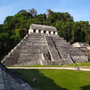 Palenque Temple, Yucatan, Mexico