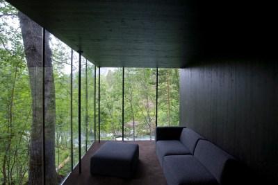 Juvet Landscape Hotel, Inside Lounge
